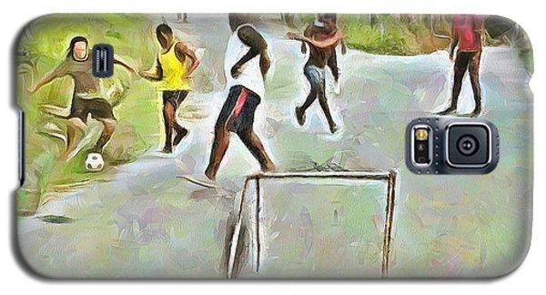 Caribbean Scenes - Small Goal In De Street Galaxy S5 Case