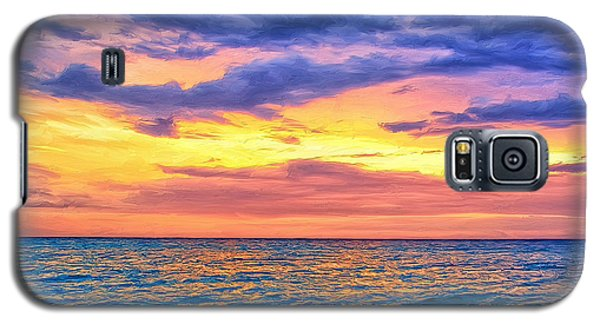 Caribbean Sunset Galaxy S5 Case by Dominic Piperata