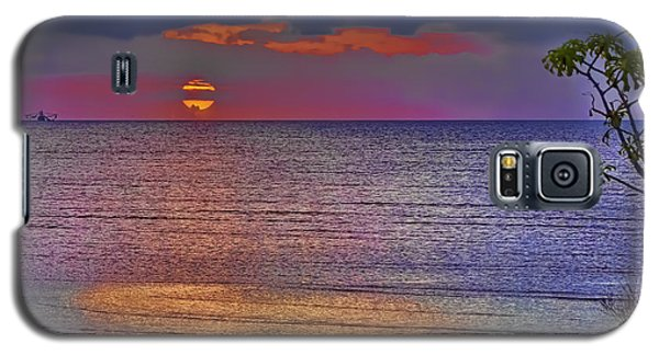 Caribbean Sunset Galaxy S5 Case