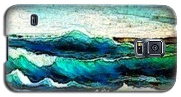 Caribbean Waves Galaxy S5 Case