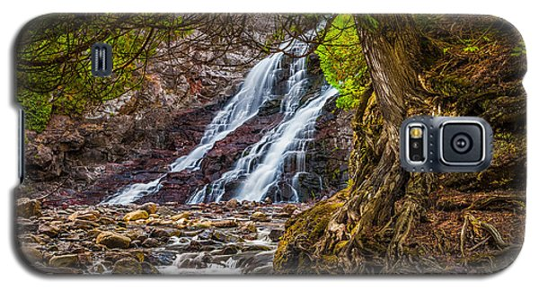 Caribou Falls In Fall Galaxy S5 Case
