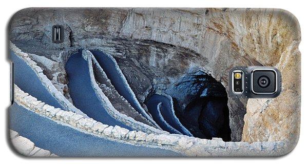 Carlsbad Caverns Natural Entrance Galaxy S5 Case by Kyle Hanson