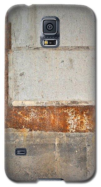 Carlton 14 - Abstract Concrete Wall Galaxy S5 Case