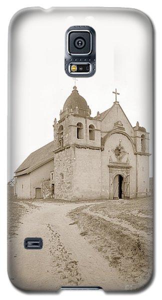 Carmel Mission South Side Circa 1915 Galaxy S5 Case