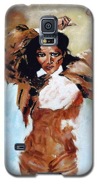 Carmen Amaya Galaxy S5 Case by Manuel Sanchez
