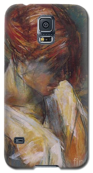 Galaxy S5 Case featuring the painting Carmen Of Lautrec II by Debora Cardaci