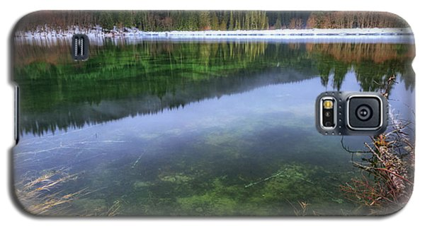 Galaxy S5 Case featuring the photograph Carmen Reservoir by Cat Connor