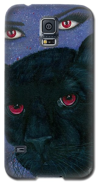 Carmilla - Black Panther Vampire Galaxy S5 Case