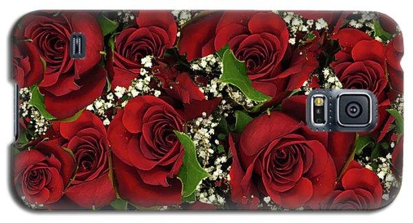Carmine Roses Galaxy S5 Case