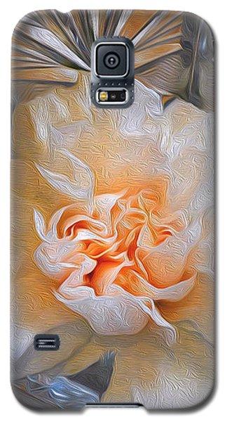 Carnation In Cut Glass 7 Galaxy S5 Case