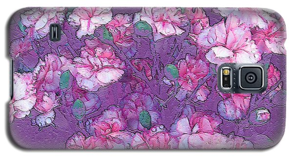 Galaxy S5 Case featuring the digital art Carnation Inspired Art by Barbara Tristan