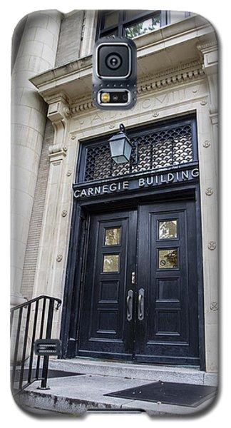 Carnegie Building Penn State  Galaxy S5 Case by John McGraw