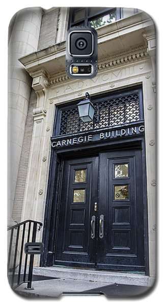Carnegie Building Penn State  Galaxy S5 Case by John McGraw