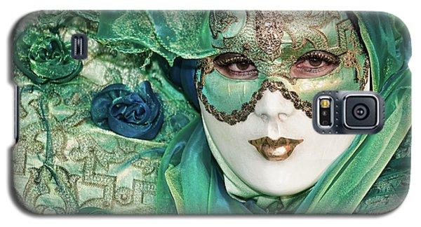 Carnival In Green Galaxy S5 Case