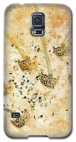 Carnival Masquerade Jewels Galaxy S5 Case by Jorgo Photography - Wall Art Gallery