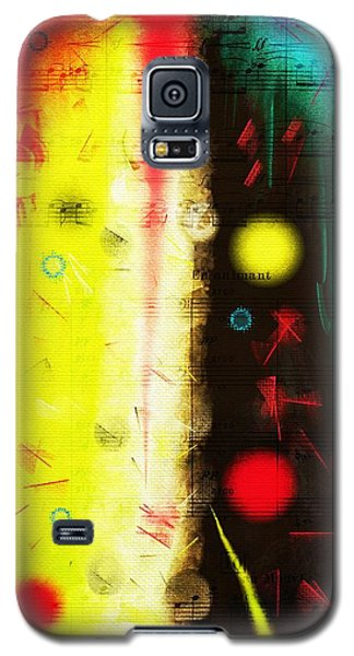 Galaxy S5 Case featuring the digital art Carnival by Silvia Ganora