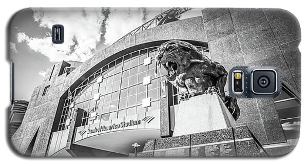 Carolina Panthers Stadium Black And White Photo Galaxy S5 Case