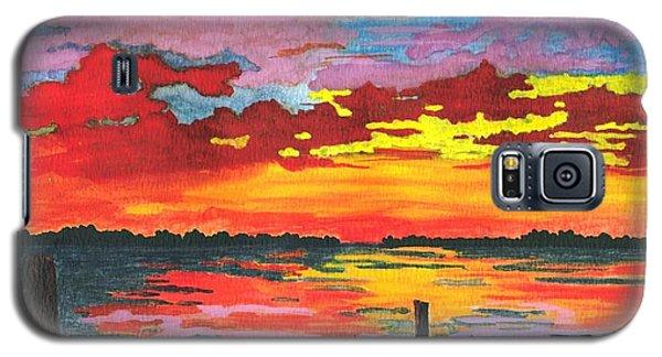 Carolina Sunset Galaxy S5 Case