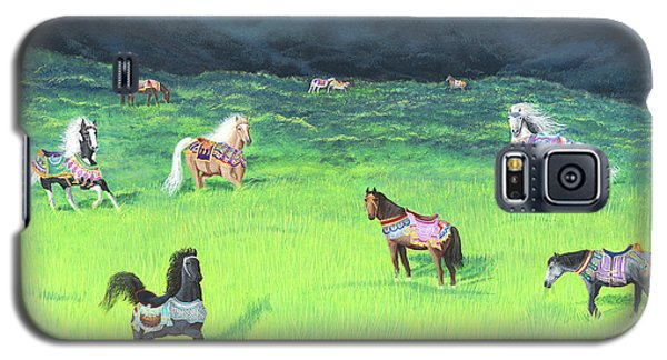 Carousel Horse Retirement Galaxy S5 Case