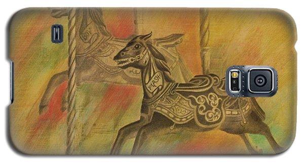 Carousel Horses Galaxy S5 Case