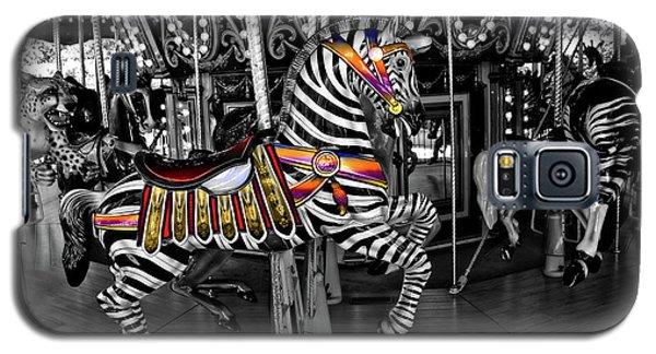 Carousel Zebra Series 2222 Galaxy S5 Case