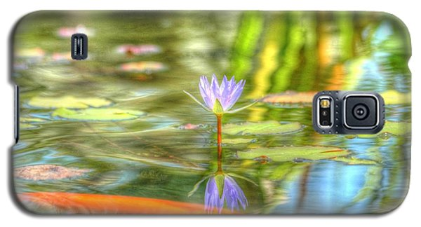 Carp And Lily Galaxy S5 Case