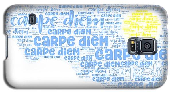 Carpe Aestatem Galaxy S5 Case