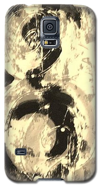 Galaxy S5 Case featuring the painting Carpenter by Carol Rashawnna Williams