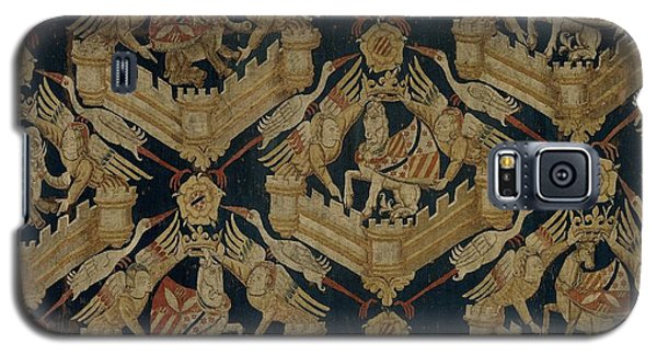 Carpet With The Arms Of Rogier De Beaufort Galaxy S5 Case by R Muirhead Art