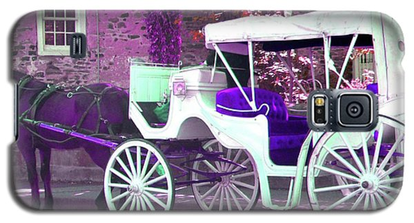 Galaxy S5 Case featuring the photograph Carriage Ride by Susan Carella