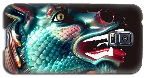 Carrousel Dragon Horse Galaxy S5 Case