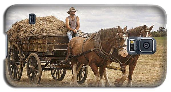 Carting Hay Galaxy S5 Case