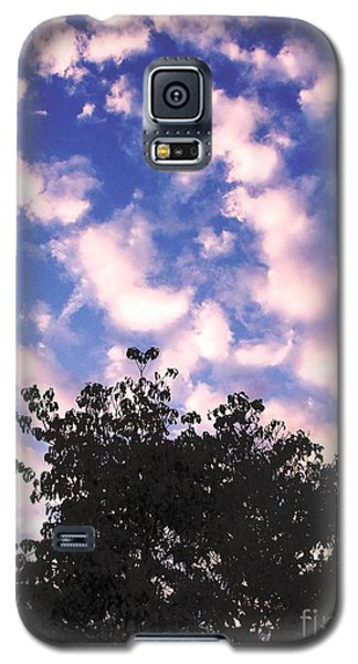 Cartoon Clouds Galaxy S5 Case by Melissa Stoudt