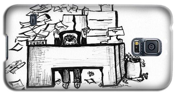 Cartoon Desk Galaxy S5 Case
