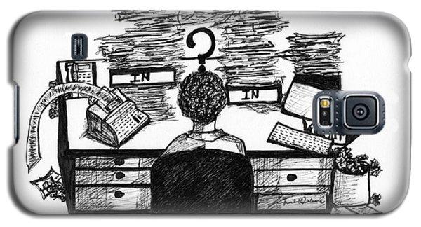 Cartoon I Dare You Galaxy S5 Case
