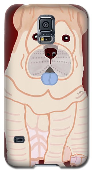 Cartoon Shar Pei Galaxy S5 Case