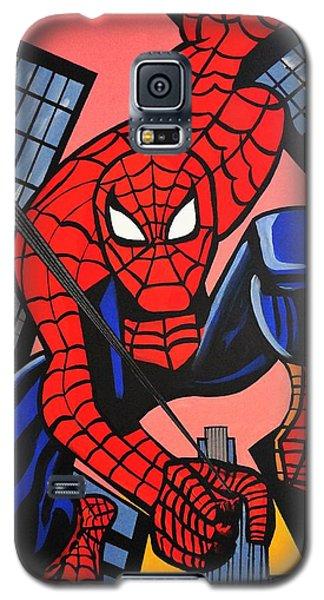 Cartoon Spiderman Galaxy S5 Case