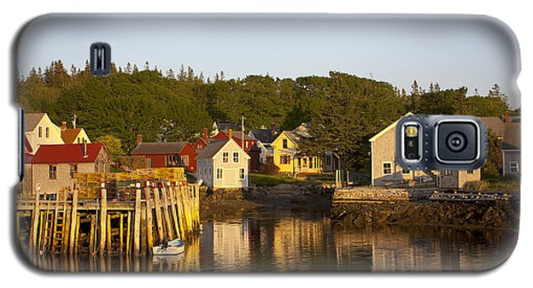 Carvers Harbor At Sunset, Vinahaven, Maine Galaxy S5 Case