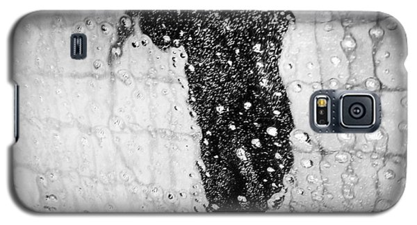 Cool Galaxy S5 Case - Carwash Cool Black And White Abstract by Matthias Hauser