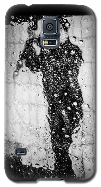 Carwash Cool Black And White Abstract Galaxy S5 Case