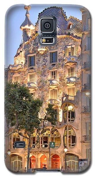 Galaxy S5 Case featuring the photograph Casa Batllo Barcelona  by Marek Stepan