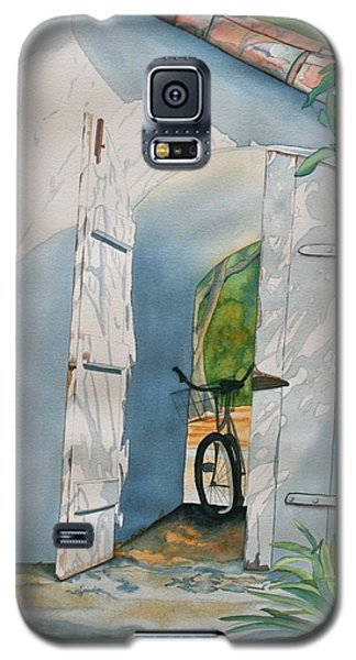 Galaxy S5 Case featuring the painting Casa De Teresita by Teresa Beyer