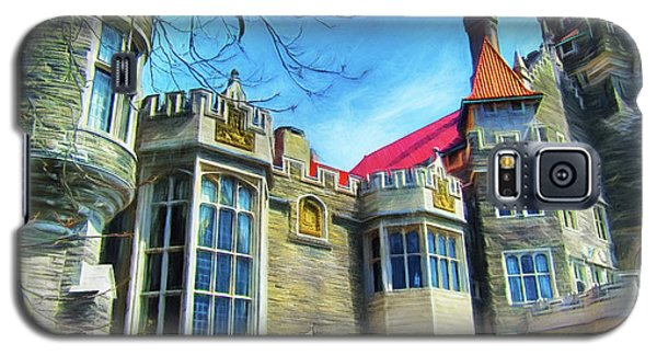 Casa Loma Series 2 Painted Y1 Galaxy S5 Case