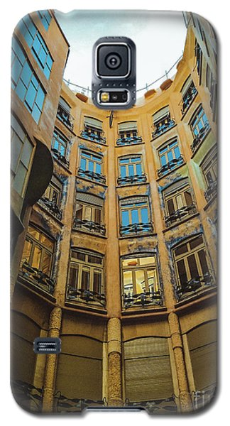 Galaxy S5 Case featuring the photograph Casa Mila - Barcelona by Colleen Kammerer