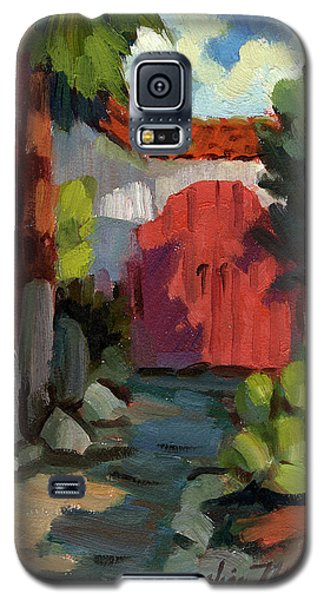 Casa Tecate Gate Galaxy S5 Case by Diane McClary