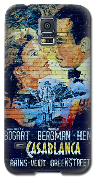 Galaxy S5 Case featuring the photograph Casablanca Mural 2013 by Padre Art