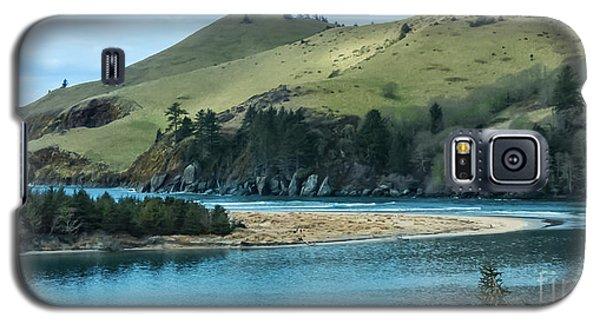 Cascade Head Panorama Galaxy S5 Case