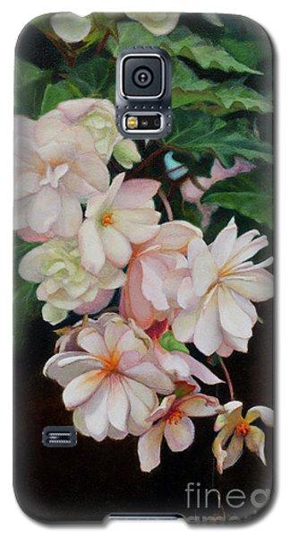 Cascade Of Begonias  Galaxy S5 Case