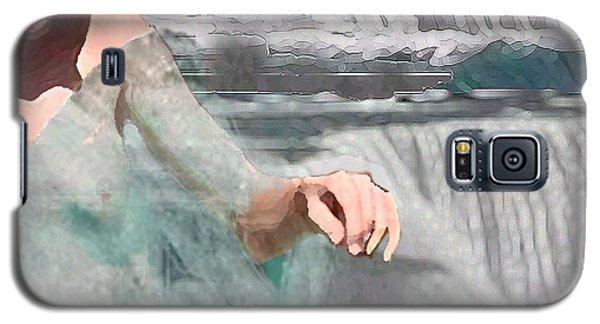 Galaxy S5 Case featuring the digital art Cascade by Steve Karol