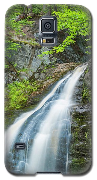 Galaxy S5 Case featuring the photograph Cascade Waterfalls In South Maine by Ranjay Mitra